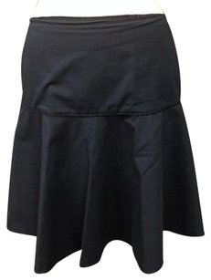 Lafayette 148 New York Navy Skirt Blue