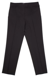 Lafayette 148 New York Wool Trouser Pants BLACK