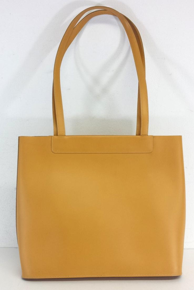 Lamarthe Leather Basic Yellow Tote Bag | Totes on Sale
