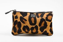 Lambertson Truex Brown Black Multi-Color Clutch