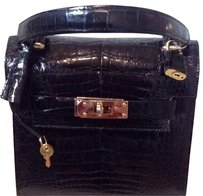 LANA MARKS Satchel in Black