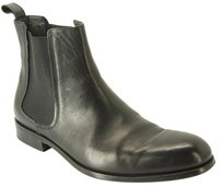 Lanvin Black leather chelsea ankle boots size 11 UK / 12 US Mens stretch $795