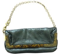 Lanvin Clutch Tortoise Shell Shoulder Bag