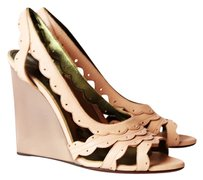 Lanvin Neutral Leather beige nude nautral Wedges