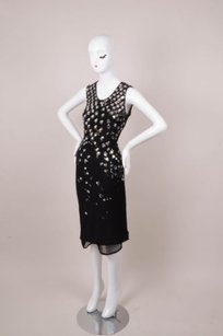 Lanvin short dress Black Jewel Bead on Tradesy