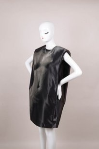 Lanvin short dress Black Sleeveless on Tradesy
