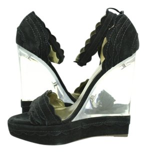 Lanvin Lucite Wedge Wedges