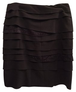 Larry Levine Mini Skirt Blac