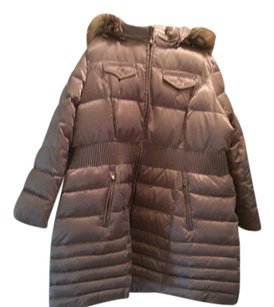 Laundry by Shelli Segal Down Feather Coat