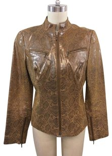 Laundry by Shelli Segal Brown Brown/ Gold Jacket
