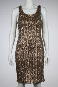 Laundry by Shelli Segal Womens Sequined Dress