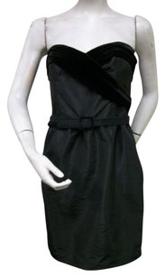 Laundry by Shelli Segal short dress Black Strapless on Tradesy