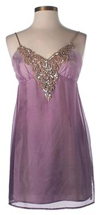 Laundry by Shelli Segal Silk Embellished Dress