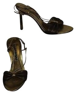 Laundry by Shelli Segal Womens Gold Brown Pumps