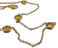 Lauren G Adams Lauren G Adams 42 Glamour By The Yard Topaz Station Necklace N-55011g