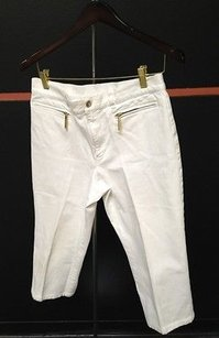 Lauren Jeans Company Co Ralph Capri/Cropped Pants White