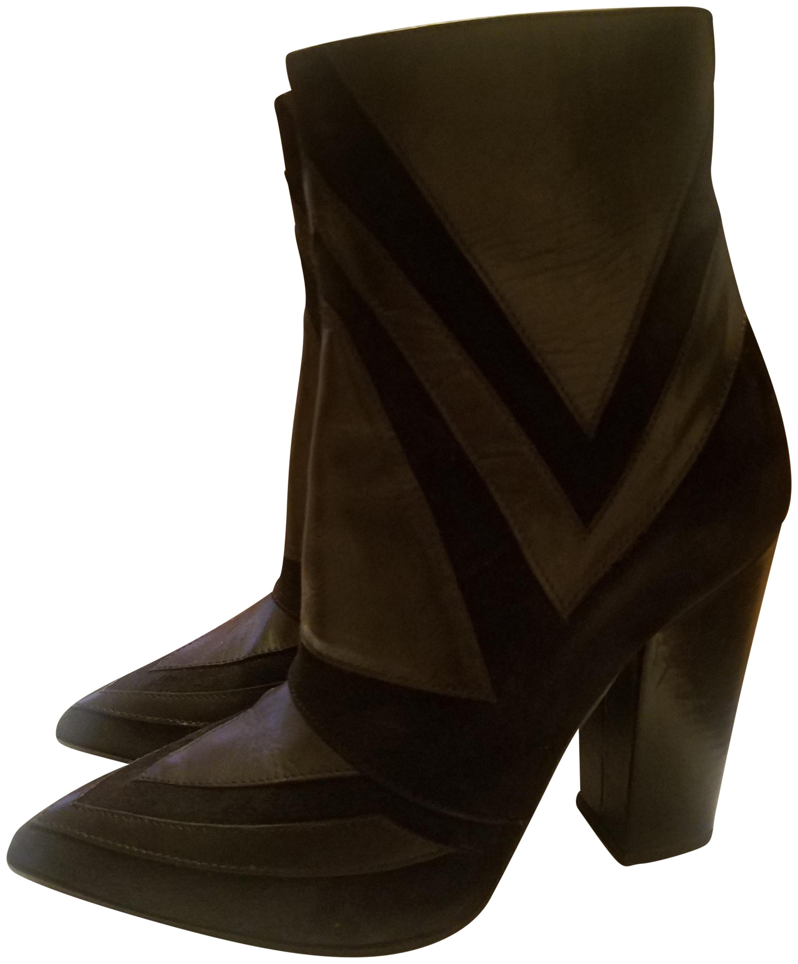Boots for Women, Booties On Sale, Dark Brown, Suede leather, 2017, 4.5 5.5 6 8 Laurence Dacade