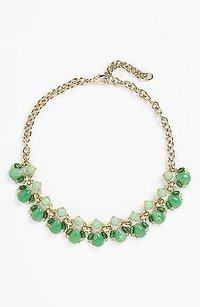 Lee Angel Lee Angel Nordstrom By The Reef Stone Frontal Necklace Green