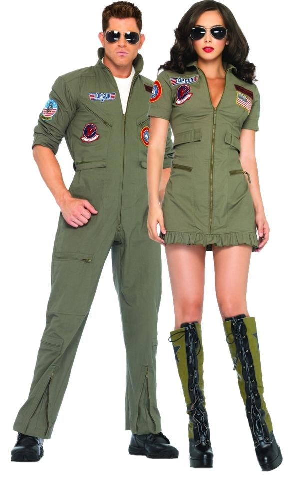 Leg Avenue Top Gun Sexy Halloween Costume Couples Men Jumpsuit Flightsuit Flight Suit Womens Aviators Maverick ...  sc 1 st  Tradesy & Leg Avenue Army Green Top Gun Sexy Halloween Costume Couples Men ...