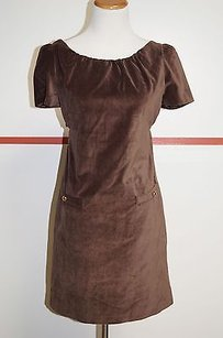 Leona short dress Brown Velvet Tunic With Tags Bin 951 on Tradesy