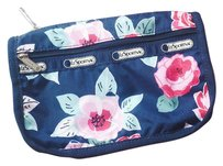 LeSportsac LeSportsac Travel Cosmetic Bag in Navy Rose