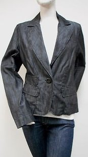 Level 99 Wash Denim Black Jacket