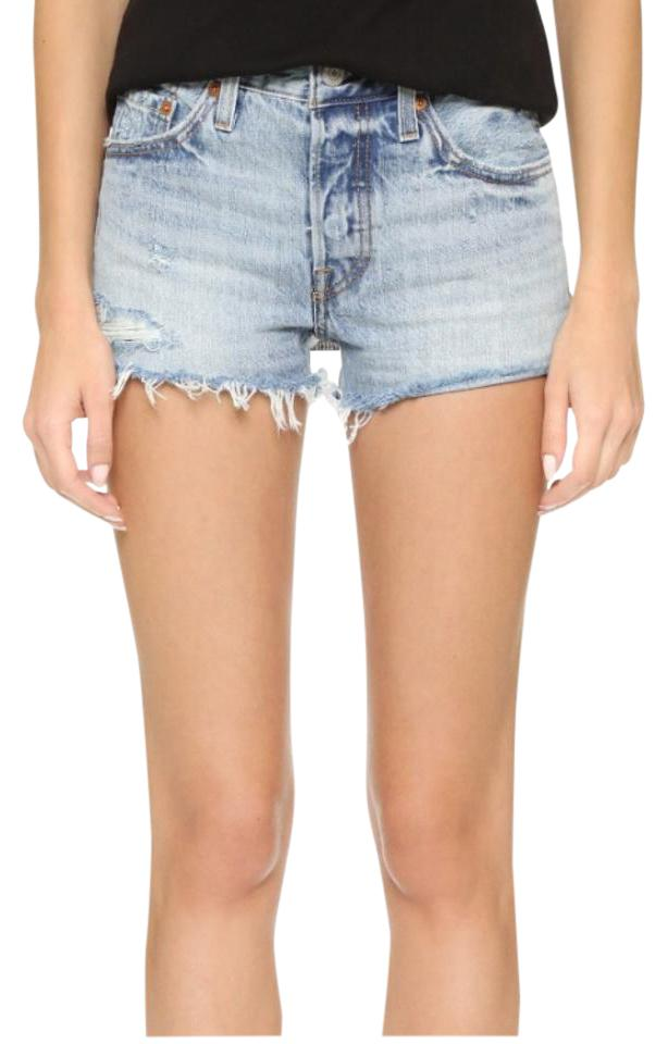 Levi's 501 Shorts In Waveline