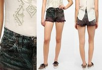 Levi's Urban Outfitters Urban Cut Off Shorts Multi-Color