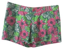 Lilly Pulitzer Callihan Dress Shorts pink/green