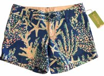 Lilly Pulitzer Mini/Short Shorts Brewster Blue Good Reef