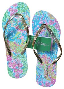 Lilly Pulitzer Printed Sandals