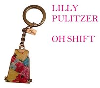 Lilly Pulitzer *REDUCED* OH SHIFT KEYCHAIN DRESS PRINT