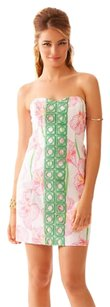 Lilly Pulitzer Strapless Preppy Classic Dress