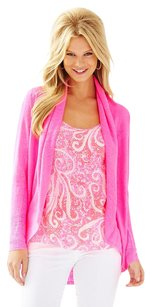 Lilly Pulitzer Sweater Summer Sweater Hot Linen Sweater Cardigan