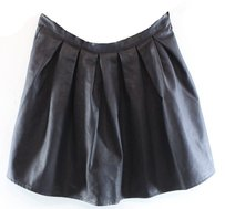 Lily White A-line Color-black Skirt