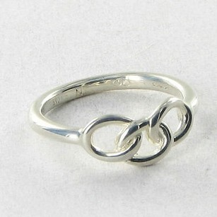 Links of London Links Of London 5045.5474l Ring Mini Signature Logo 6.75 925 Silver