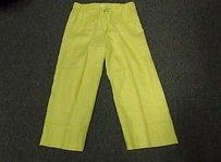 Liz Claiborne Lime Capri/Cropped Pants Green