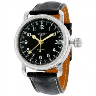 Longines Longines Heritage Avigation Leather Automatic Mens Watch L27784532