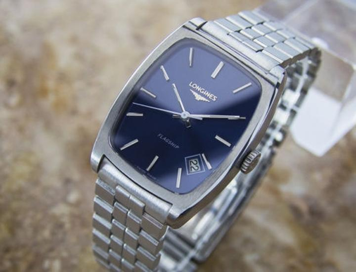 longines flagship stainless steel automatic 70s mens dress watch d59 longines longines flagship stainless steel automatic 70s mens dress watch d59
