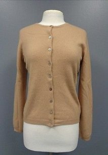Lord & Taylor Two Ply Cashmere Button Up Cardigan Sma8594 Sweater