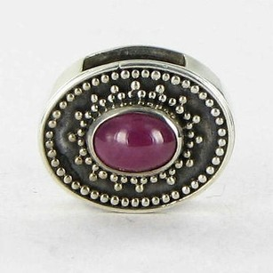 Lori Bonn Lori Bonn 29906r Slide Charm July Sweetie Pie Ruby Sterling Silver