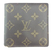Louis Vuitton #11936 *Clearance* Monogram Bifold Compact Wallet card coin holder
