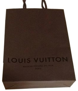 Louis Vuitton Louis Vuitton Paper Shopping Bag 7.75x11x2.5 lv