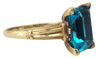 Louis Vuitton 4.50 Carat Blue Emerald Cut
