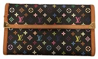 Louis Vuitton Black Louis Vuitton Multicolore Wallet