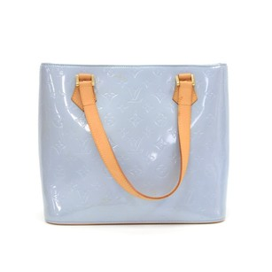 Louis Vuitton Blue Leather Shoulder Bag