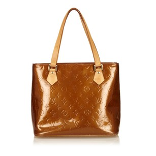 Louis Vuitton Bronze Brown Leather Tote