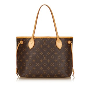 Louis Vuitton Brown Canvas Monogram Canvas 7alvto004 Tote