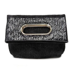 Louis Vuitton Monogram Black Clutch