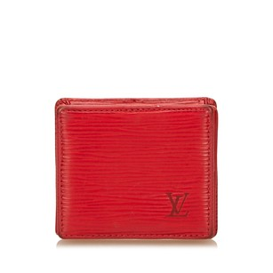 Louis Vuitton Coin Pouch,epi Leather,leather,red,6elvco003